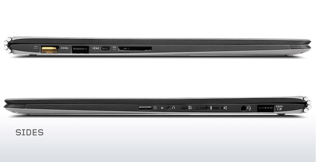 Specification sheet: YOGA 3 80HE00HHSA Lenovo Yoga 3 Pro ...