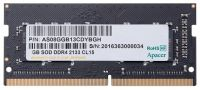 ES.04G2R.KDH Apacer 4GB DDR4-2133 260 pin 1.2V CL15 SO-DIMM notebook Memory