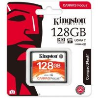 CF-128GKCF Kingston Canvas Focus 128GB Compact Flash