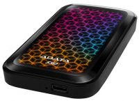 EH-A1000SE770G Adata SE770G series 1Tb/1024Gb Black External TLC Solid State Drive with RGB