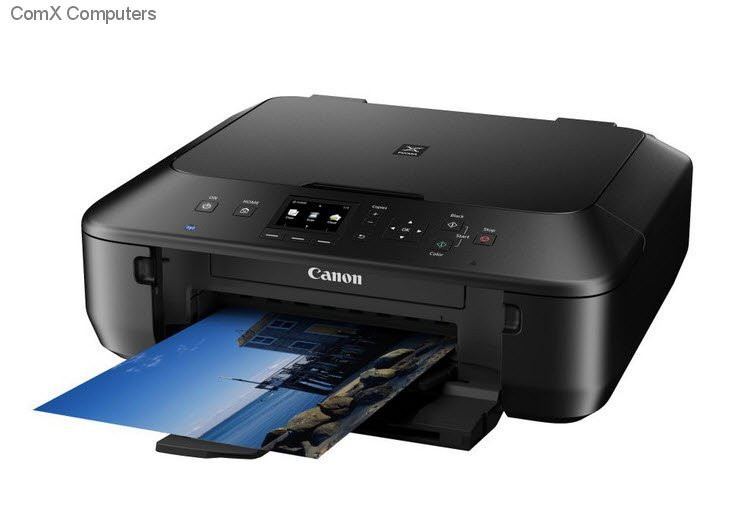 how to connect canon mx885 wirelessly