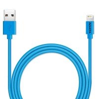 CA-Ai-PL Adata i-Cable Plastic Blue 100cm Lightning 8pins sync+charge Cable