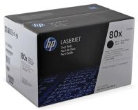 CNHPCF280XF HP 80X Dual Pack Black Toner - 7000 Pages