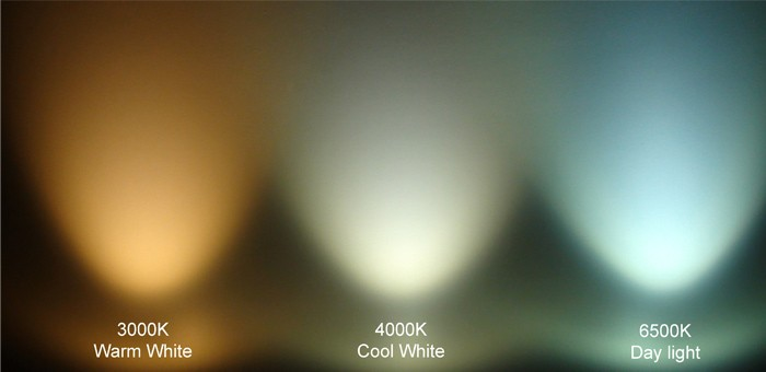 LED colour temperature