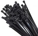 CT725400100BLK Noble Black Cable Ties - 7.25mm x 400mm - 100 Pack